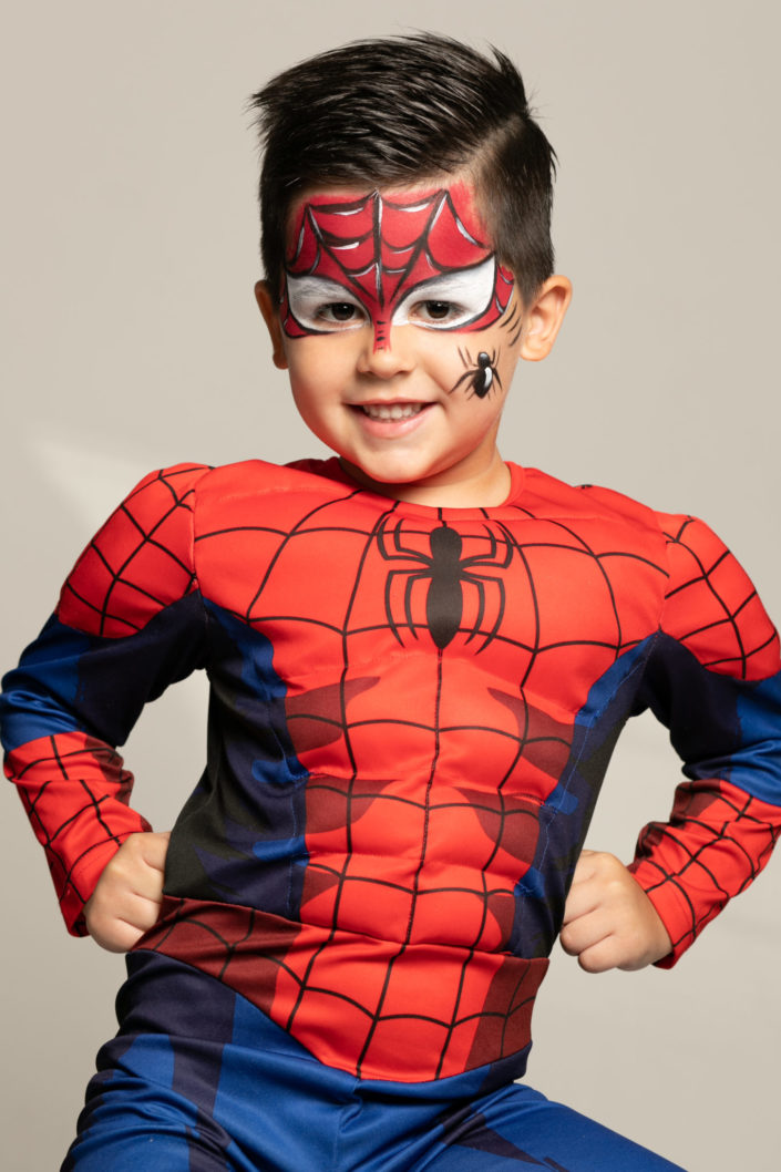 maquillage-enfant-spiderman
